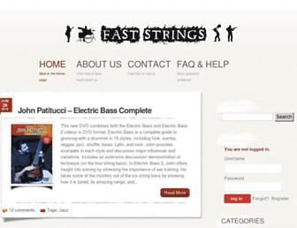 faststrings.com screenshot