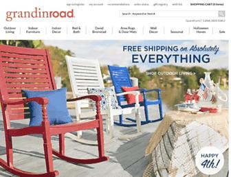 Thumbshot of Grandinroad.com