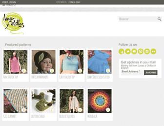 lanasyovillos.com screenshot