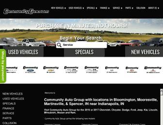 communitycars.com screenshot