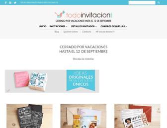 todoinvitacion.com screenshot