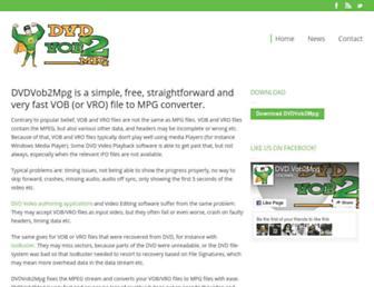 dvdvobtompg.com screenshot