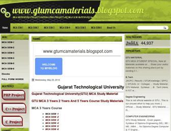gtumcamaterials.blogspot.in screenshot