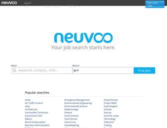 neuvoo.com screenshot