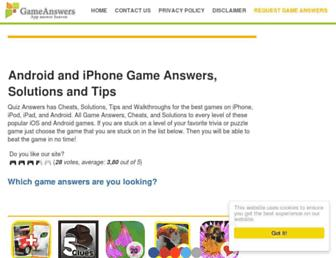 gameanswers.net screenshot