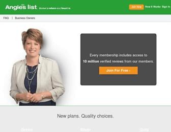 angieslist.com screenshot