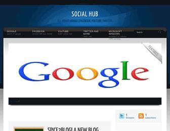 googlefacebookyoutubetwitter.blogspot.com screenshot