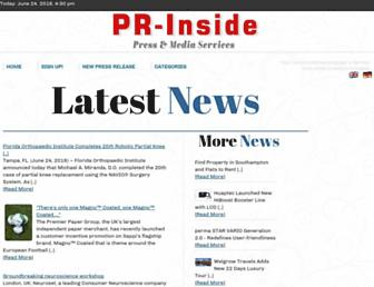Thumbshot of Pr-inside.com