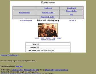 dudek.org screenshot