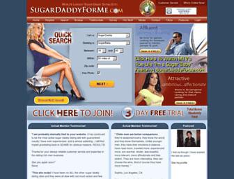 Thumbshot of Sugardaddyforme.com