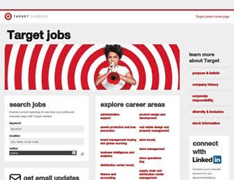 jobs.target.com screenshot