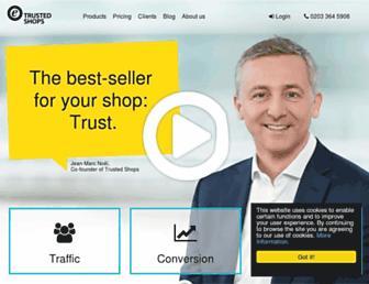 Thumbshot of Trustedshops.co.uk