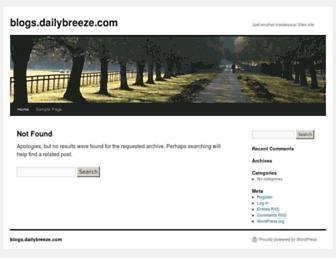 blogs.dailybreeze.com screenshot