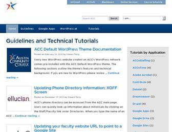 sites.austincc.edu screenshot