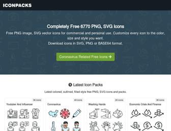 iconpacks.net screenshot