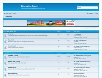 fuelsforum.rasoenterprises.com screenshot