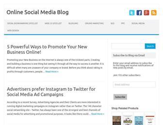 Thumbshot of Onlinesocialmediablog.com