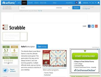 scrabble.en.softonic.com screenshot
