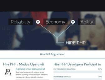Thumbshot of Hirephp.com