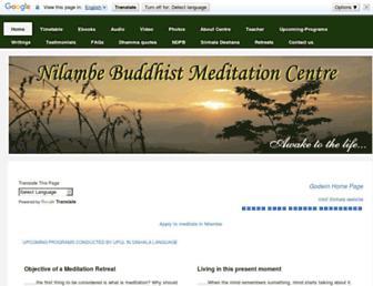 nilambe.net screenshot