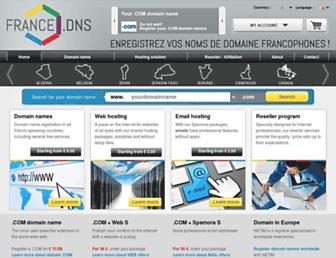 francedns.co screenshot