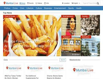 mumbailive.com screenshot