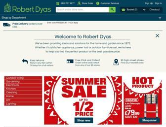 robertdyas.co.uk screenshot