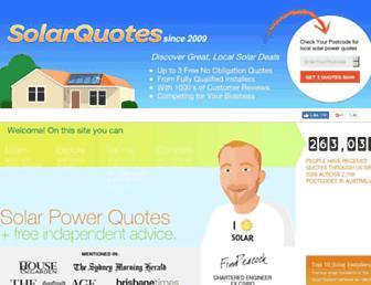 Thumbshot of Solarquotes.com.au