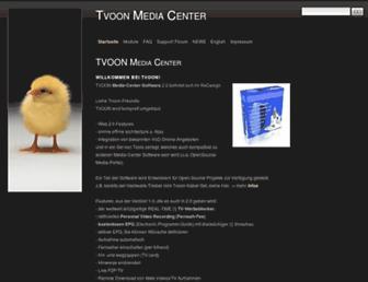 tvoon.de screenshot