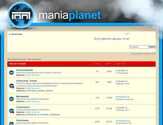 forum.maniaplanet.com screenshot
