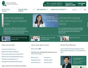 cancercenter.com screenshot