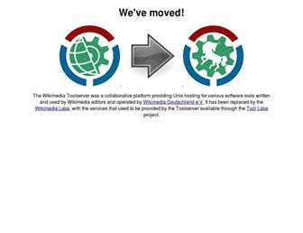 toolserver.org screenshot