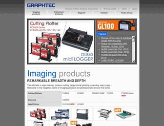 graphteccorp.com screenshot