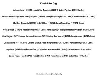 freshjobs.org screenshot