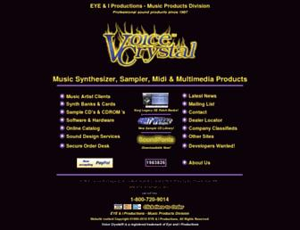 voicecrystal.com screenshot