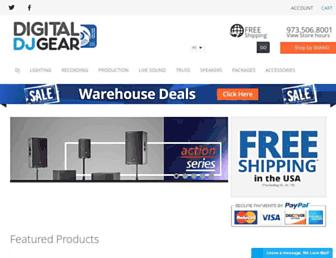 digitaldjgear.com screenshot