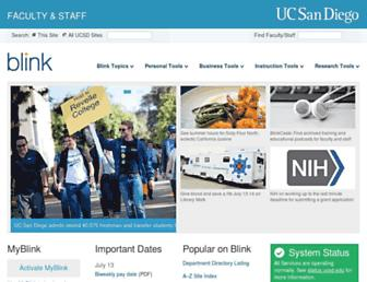blink.ucsd.edu screenshot