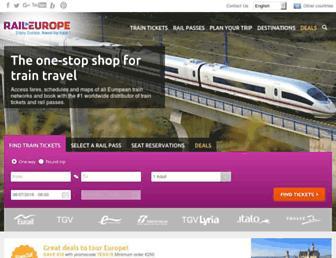 Thumbshot of Raileurope-world.com