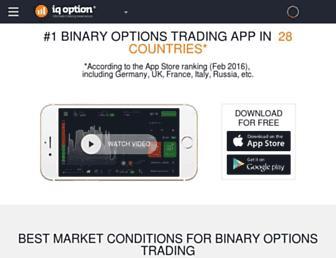 iqoption.com screenshot