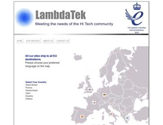 lambda-tek.com screenshot