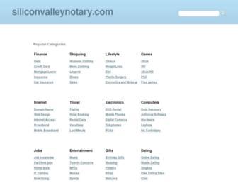 Thumbshot of Siliconvalleynotary.com