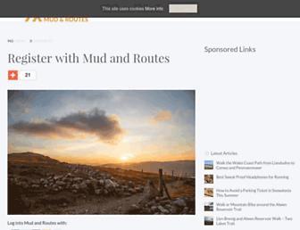 mudandroutes.com screenshot