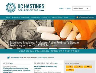 Thumbshot of Uchastings.edu