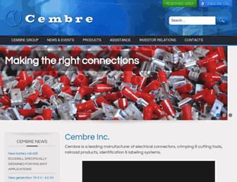 cembre.com screenshot