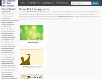 pptback.com screenshot
