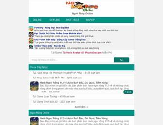 ngocrongonline.org screenshot