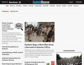 Thumbshot of Kashmirobserver.net