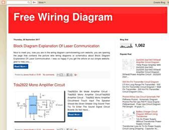 freewirediagram.blogspot.com screenshot