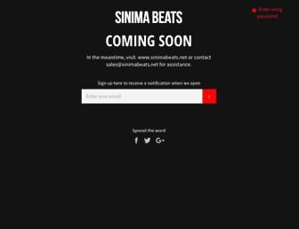 sinimabeats.com screenshot