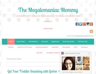 Thumbshot of Themegalomaniacmommy.com